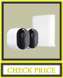 Arlo Pro 3 – Wire-Free Security 2 Camera System