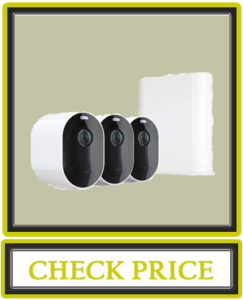 Arlo Pro 3 – Wire-Free Security 3 Camera System