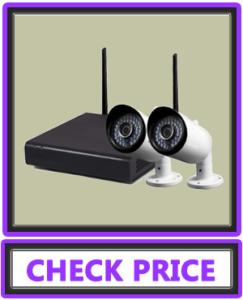 Swann SWNVK-485KH2-US Wireless Monitoring System 2 x 1080p Day/Night Camera