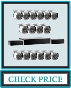 Zmodo 32 Channel 1080P HDMI NVR Security System 16 x720P IP OutdoorIndoor Surveillance Camera