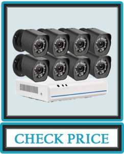 Zmodo sPoE 8CH 1080p HDMI Simplified All-in-One Cable NVR Surveillance Video Security Camera System