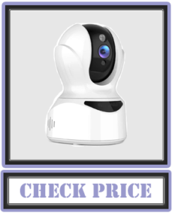 COOAU 4MP HD Home Security Camera