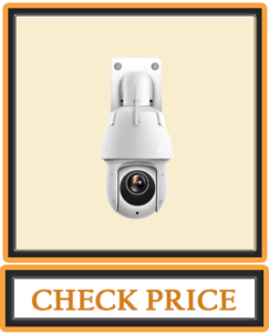 Amcrest WiFi Outdoor PTZ IP Camera Wireless Pan Tilt Zoom (25x Optical) Security Camera Dual Band 2.4ghz 5ghz Starvis