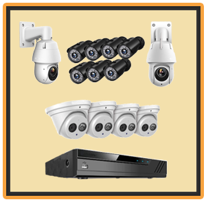 The Amcrest 4k security camera systems
