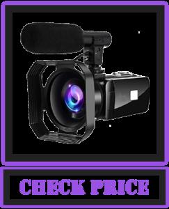 4K Video Camera Camcorder 48MP Image Vlogging Camera
