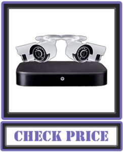Lorex Weatherproof Indoor/Outdoor Wired 4K Ultra HD Security System