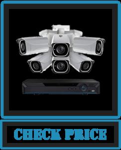 Lorex Weatherproof Indoor/Outdoor Home Surveillance Security System, 8MP Ultra HD IP Bullet Cameras