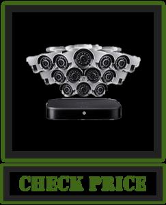Lorex Weatherproof Indoor/Outdoor Home Wired Surveillance Security System