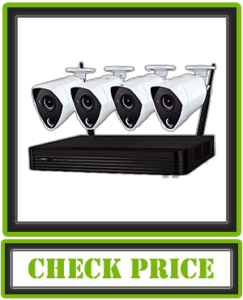 Night Owl Home Security Camera System with 4 Wired 4K