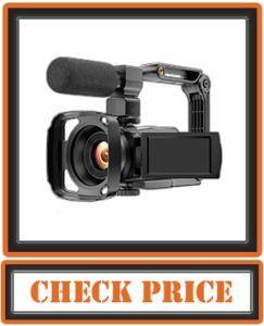 4K Ultra HD Vlogging Video Camera Camcorder